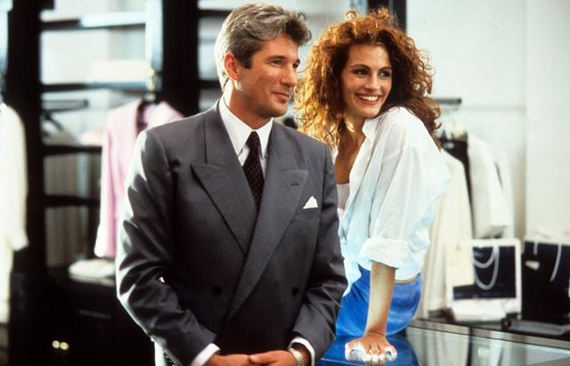 画像: リチャード・ギアと共演した『プリティ・ウーマン』(1990年公開)。