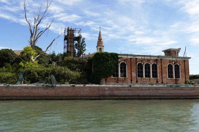 画像: イタリア、ヴェネチア:ポヴェーリア島