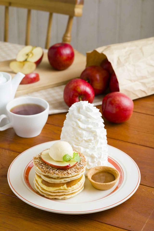 画像: ハワイ発のレストランEggs 'n Things、リンゴとシナモンの風味が広がるパンケーキ登場