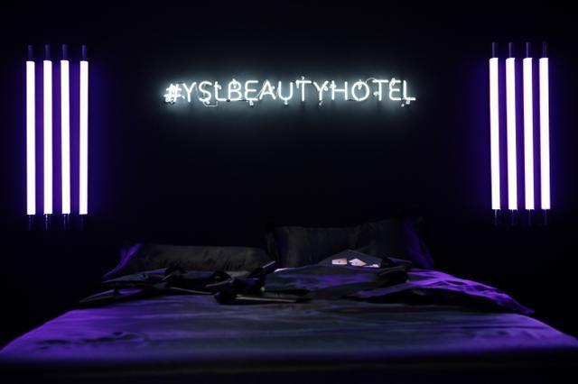 画像1: ホテルがコンセプトYSL BEAUTY HOTEL、豪華イベントを実施!