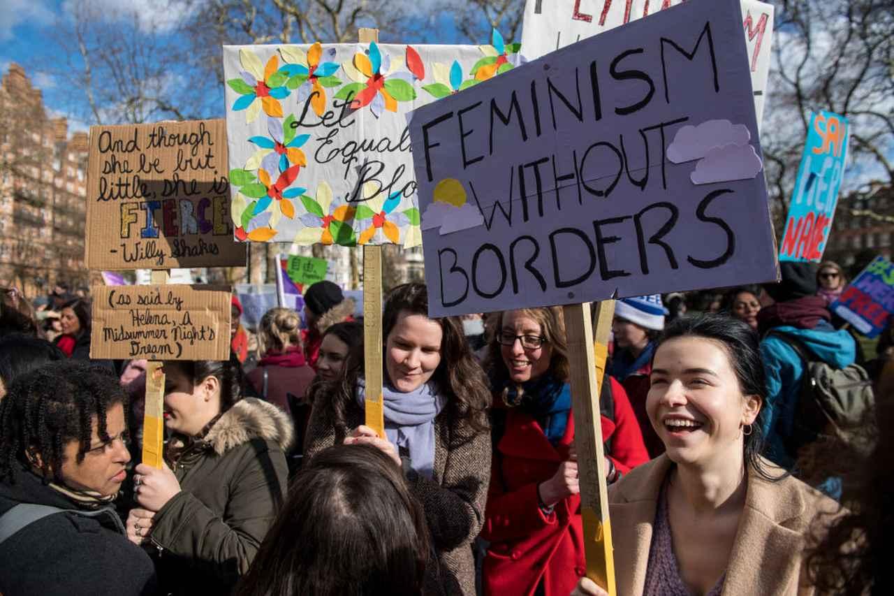 画像: 8日に国際女性デーがある3月は、アメリカ、イギリス、オーストラリアなどでは女性史月間でもある。