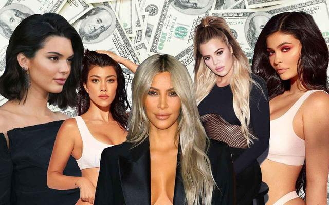 画像: カーダシアン/ジェンナー家で最も稼いでいるのは誰?5姉妹の稼ぎをランキング - フロントロウ