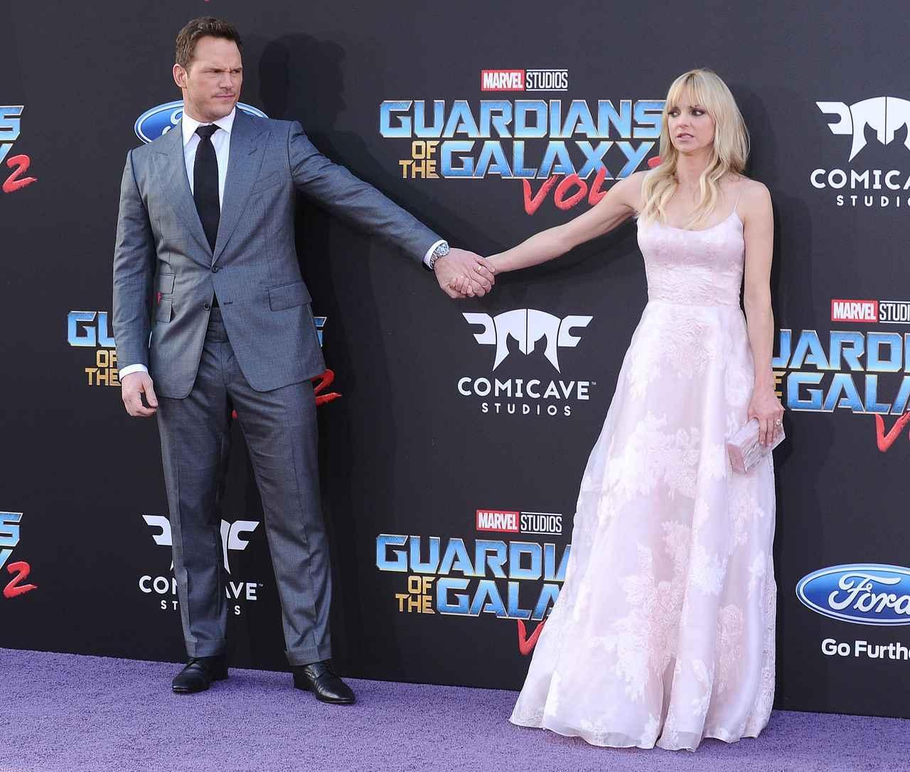 画像2: クリスとアンナが円満離婚