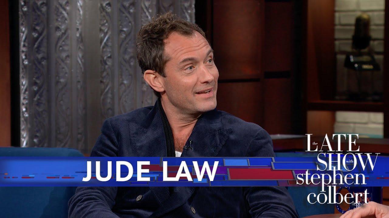 画像: Jude Law Picks His Favorite 'Young Dumbledore' Nickname youtu.be