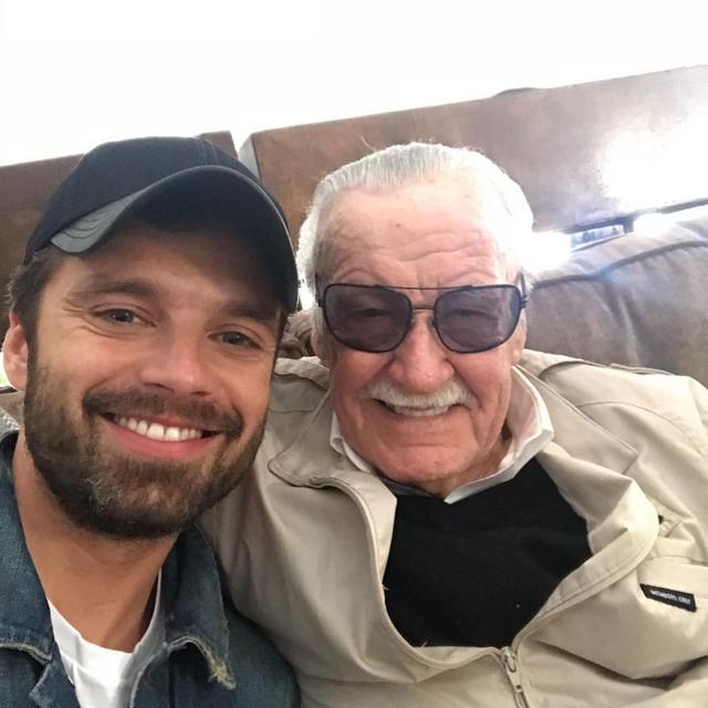 """画像1: Sebastian Stan on Instagram: """"Thank you great legend. You will be missed. I wouldn't be here without you. ❤️❤️"""" www.instagram.com"""
