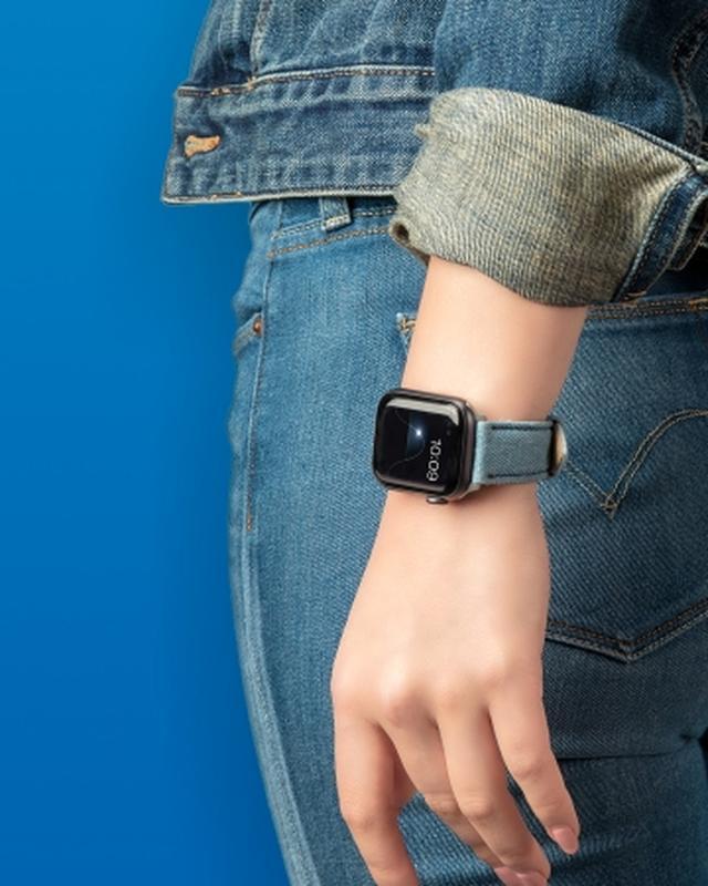 画像2: ケースティファイ、Apple Watch対応のデニムバンド発売