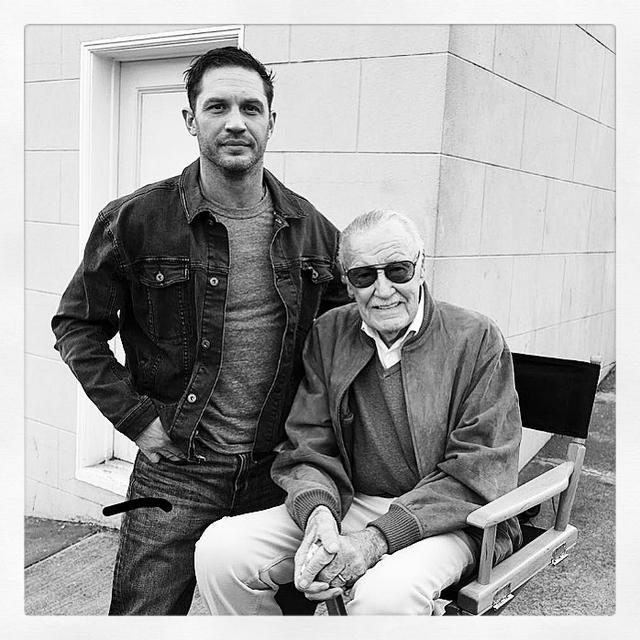 """画像1: Tom Hardy on Instagram: """"With the greatest of respect ❤️"""" www.instagram.com"""