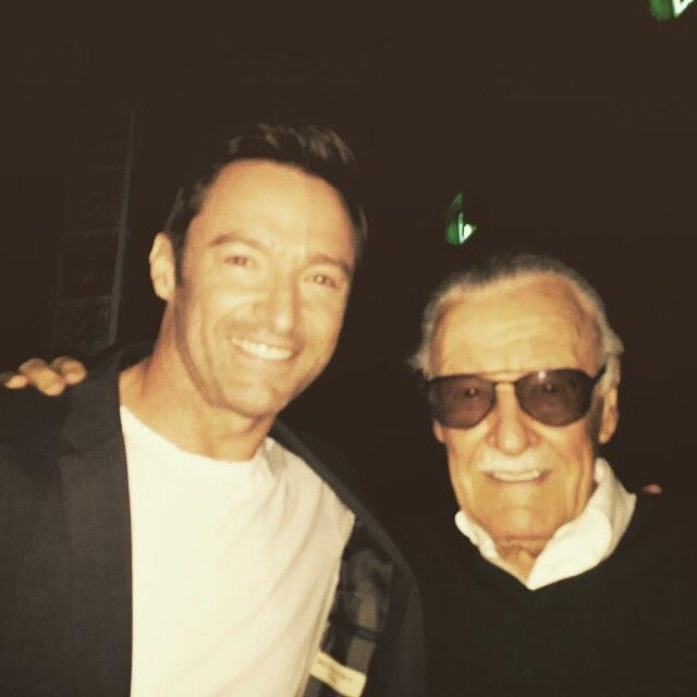 """画像1: Hugh Jackman on Instagram: """"We've lost a creative genius. Stan Lee was a pioneering force in the superhero universe. I'm proud to have been a small part of his legacy…"""" www.instagram.com"""