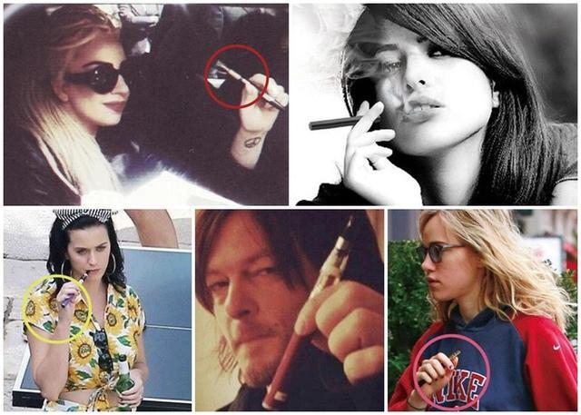 画像: 写真左上から時計回り:レディー・ガガ、エヴァ・メンデス、スキ・ウォーターハウス、ノーマン・リーダス、ケイティ・ペリー