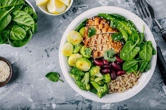 画像: ◎昼食は炭水化物と野菜をバランス良く