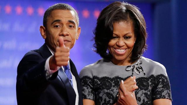 """画像2: オバマ夫妻も""""普通の親"""""""