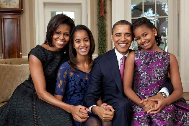 """画像1: オバマ夫妻も""""普通の親"""""""