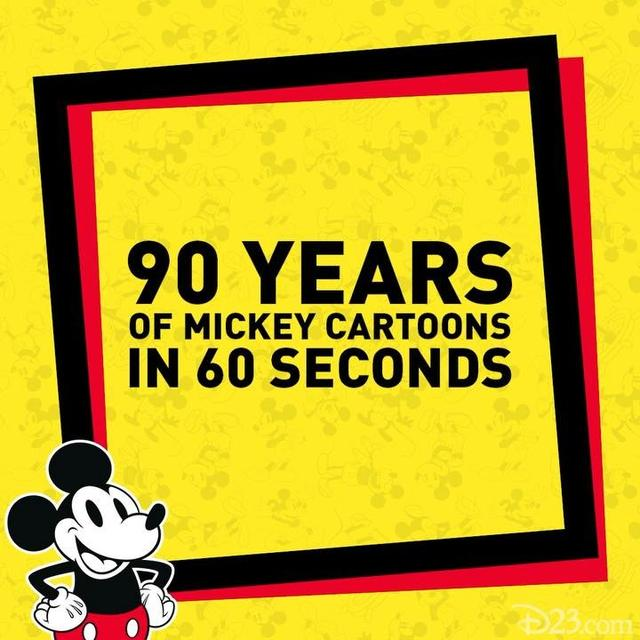"画像1: Disney D23 on Instagram: ""It's @MickeyMouse's big day! How are you celebrating #Mickey90 today? "" www.instagram.com"