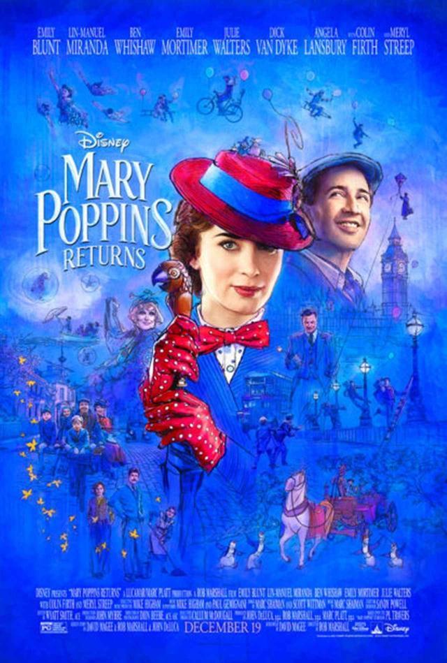 画像1: 『メリー・ポピンズ リターンズ』新ポスター解禁