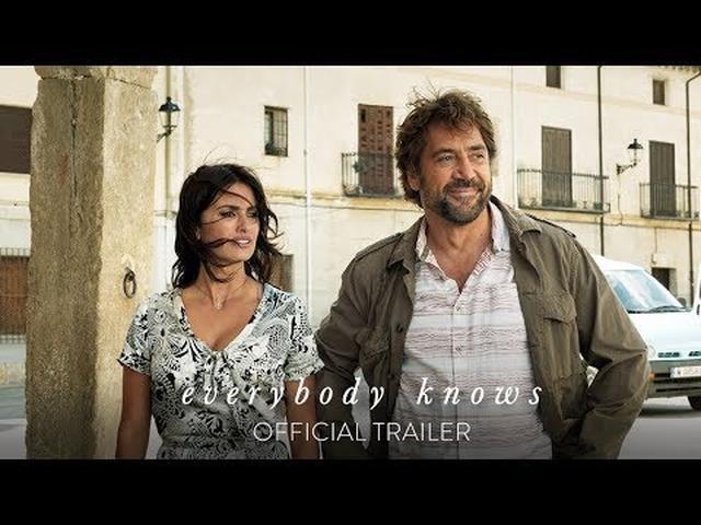 画像: EVERYBODY KNOWS - Official Trailer [HD] - In Theaters February 2019 www.youtube.com