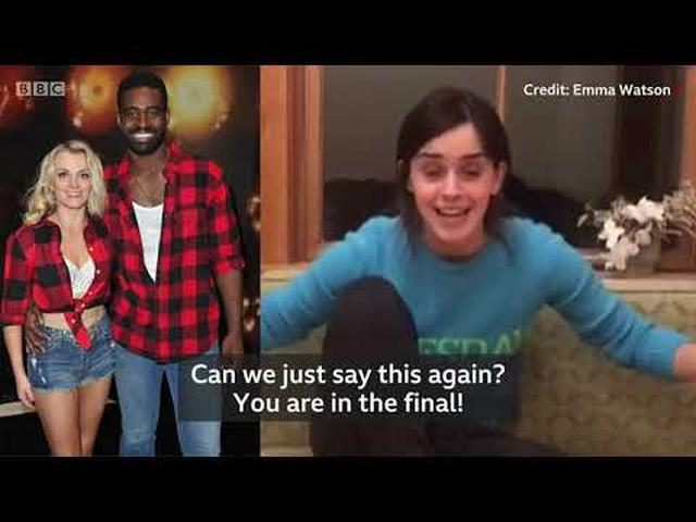 画像: Emma Watson wishes Evanna Lynch for the final of 'Dancing with the Stars' www.youtube.com