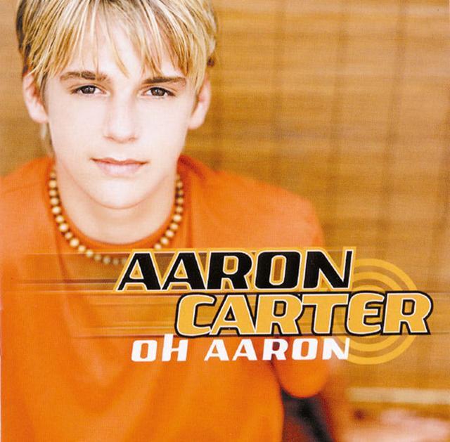 画像: 2001年にアーロンがリリースした3枚目のアルバム『オー・アーロン』のジャケット。