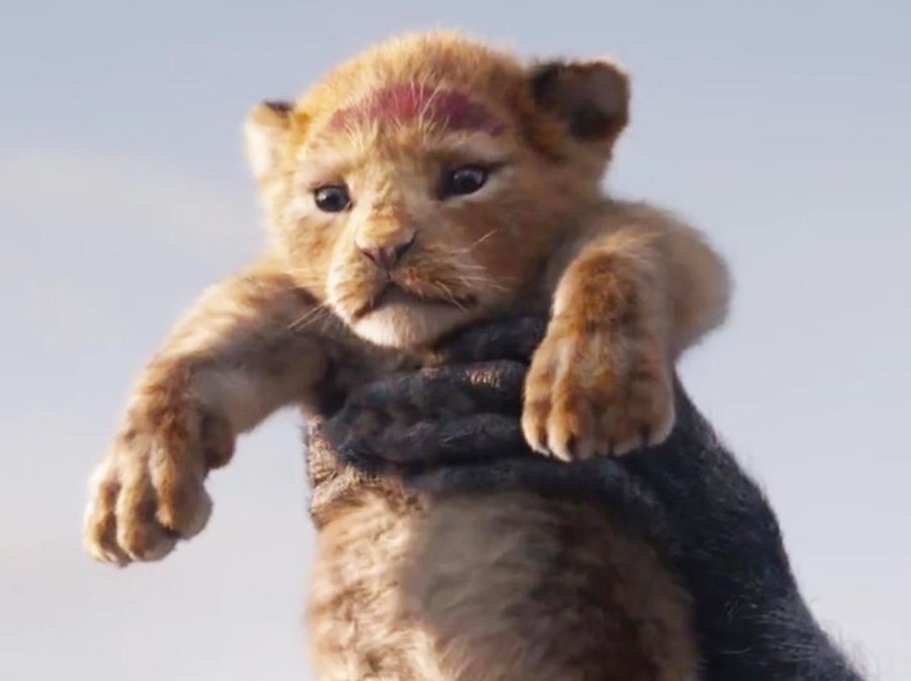 実写版『ライオン・キング』の予告編が公開!シンバの「モフモフの毛並み」に感動