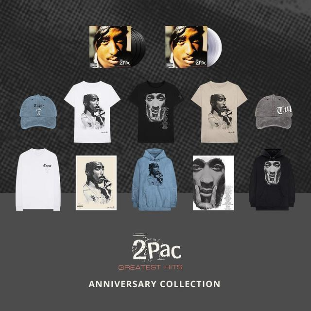 "画像1: Tupac Shakur on Instagram: ""Today marks 20 years since the release of the #2PAC Greatest Hits album. Celebrate the anniversary with limited edition vinyl and apparel.…"" www.instagram.com"