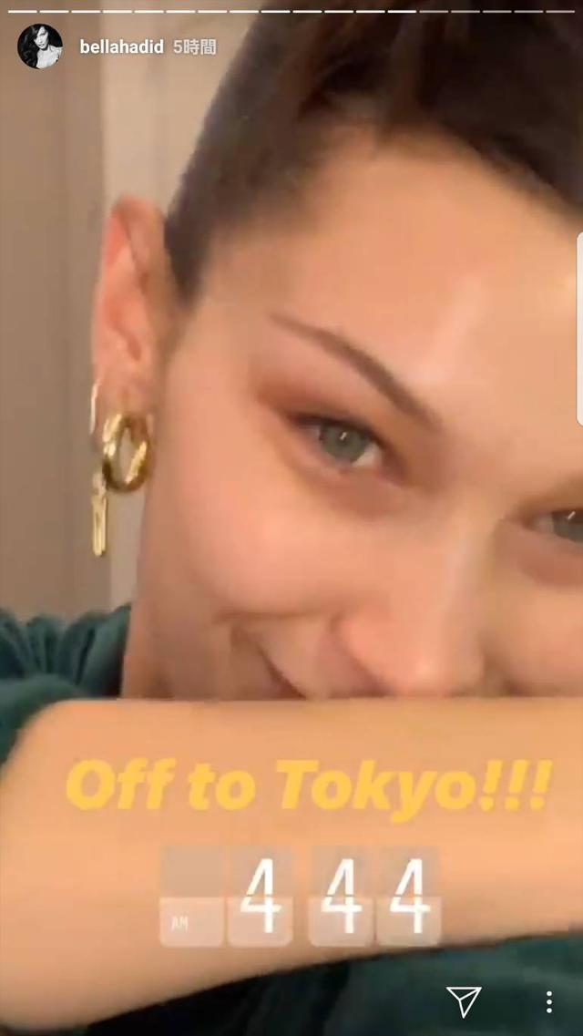 画像: ベラ・ハディッドが再び来日!あと数時間で日本にやってくる