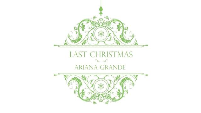 画像: Ariana Grande - Last Christmas (Audio) www.youtube.com
