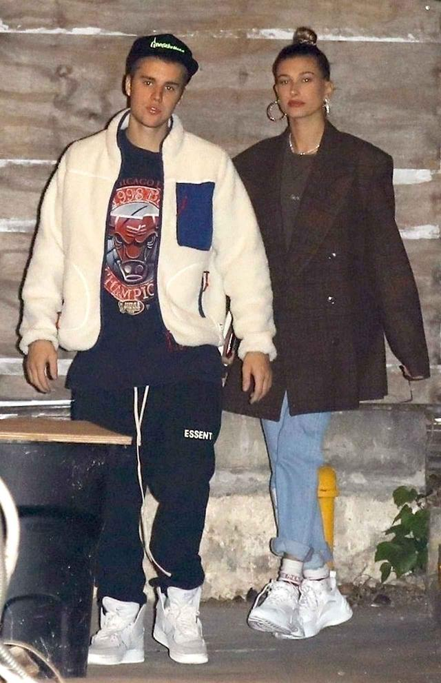 画像: ジャスティン&ヘイリーの最新写真。しばらくジャスティンの母国カナダに2人で帰省していたが、現在はロサンゼルスに滞在している。