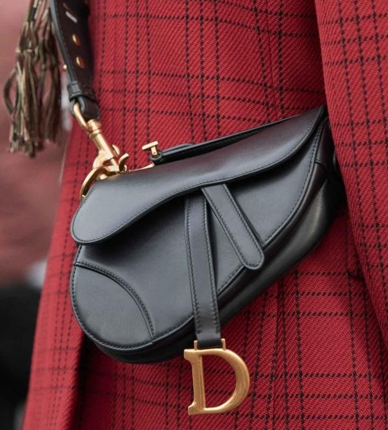 画像: ディオールの名作「サドル」バッグを愛用してやまないセレブたち