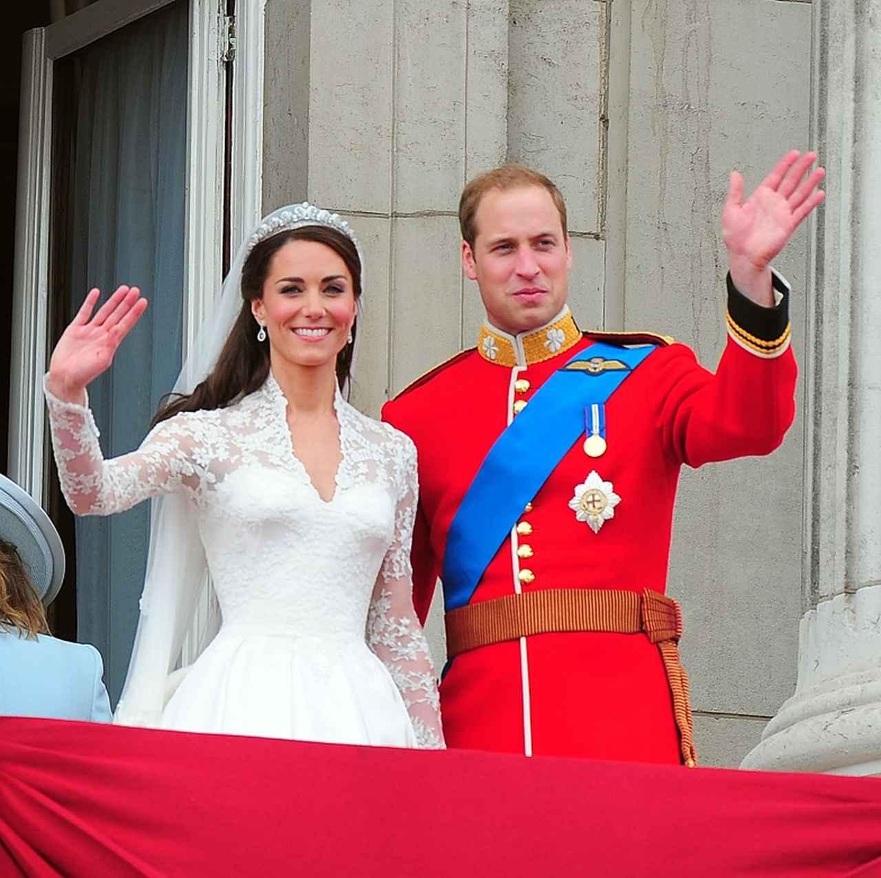 画像: 2011年に行われたキャサリン妃とウィリアム王子のロイヤル・ウェディング。