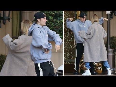 画像: Justin Bieber And Hailey Baldwin Have A DANCE-OFF At The Valet - EXCLUSIVE www.youtube.com