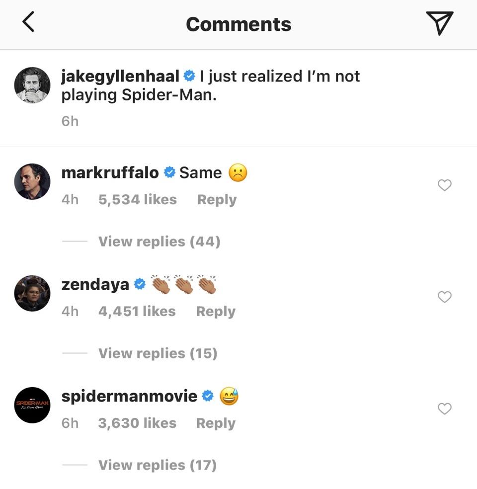 画像1: Instagram/Jake Gyllenhaal