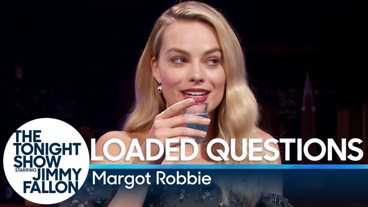 画像: Loaded Questions with Margot Robbie www.youtube.com