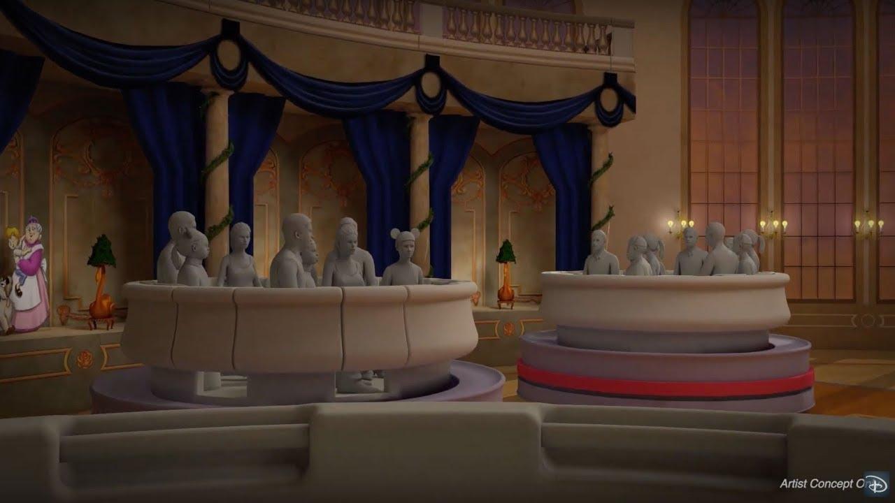 画像: Sneak Peek at 'Beauty and the Beast' Attraction Coming to Tokyo Disneyland www.youtube.com