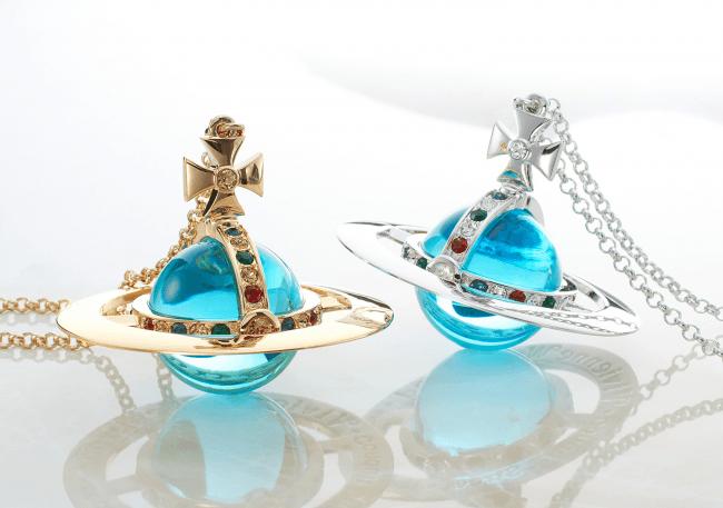 画像: <Vivienne Westwood Accessories>GIANT ORB PENDANT ¥81,000