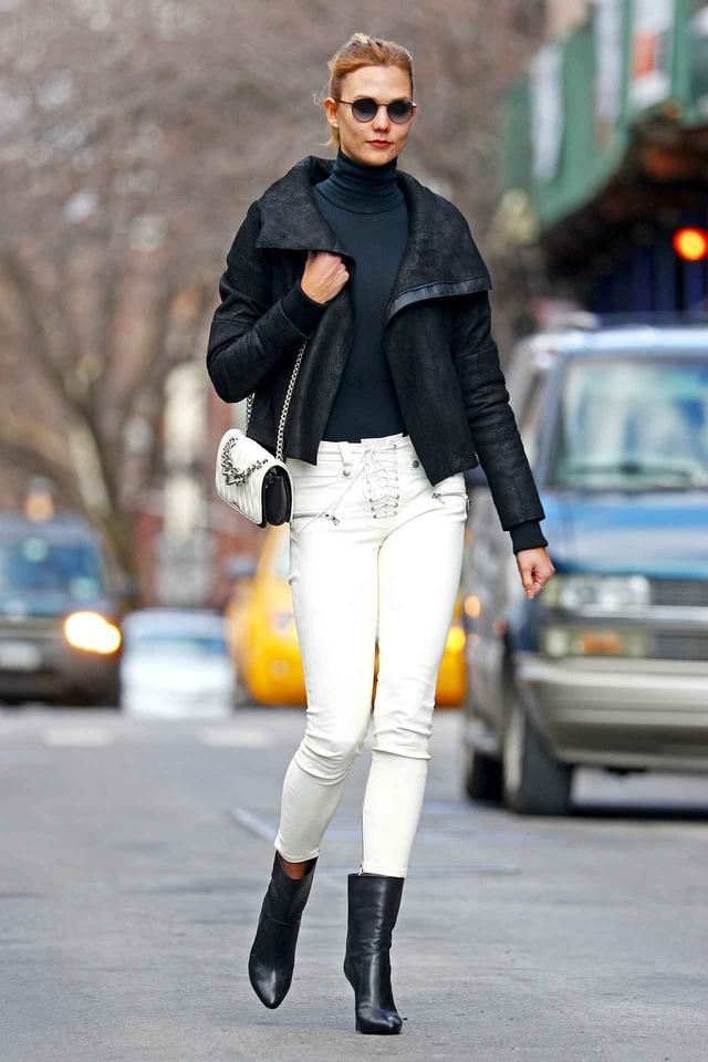 画像1: カーリー・クロス、冬に履きまわすホワイトデニム!