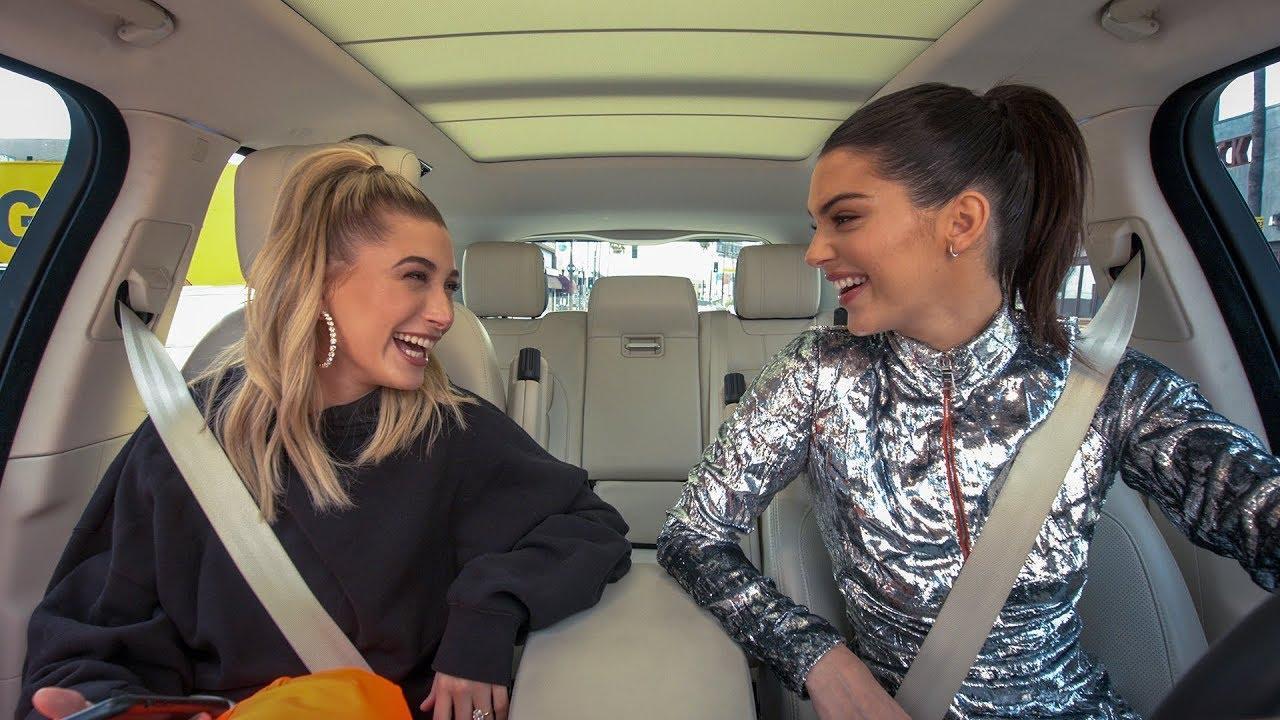 画像: Carpool Karaoke: The Series - Kendall Jenner & Hailey Bieber - Apple TV app www.youtube.com