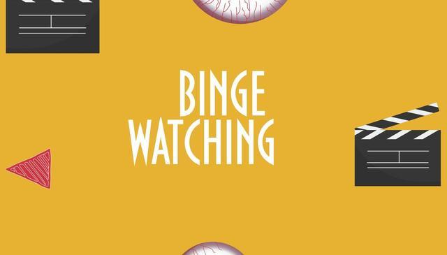 画像: 「Binge-Watching」の意味は?