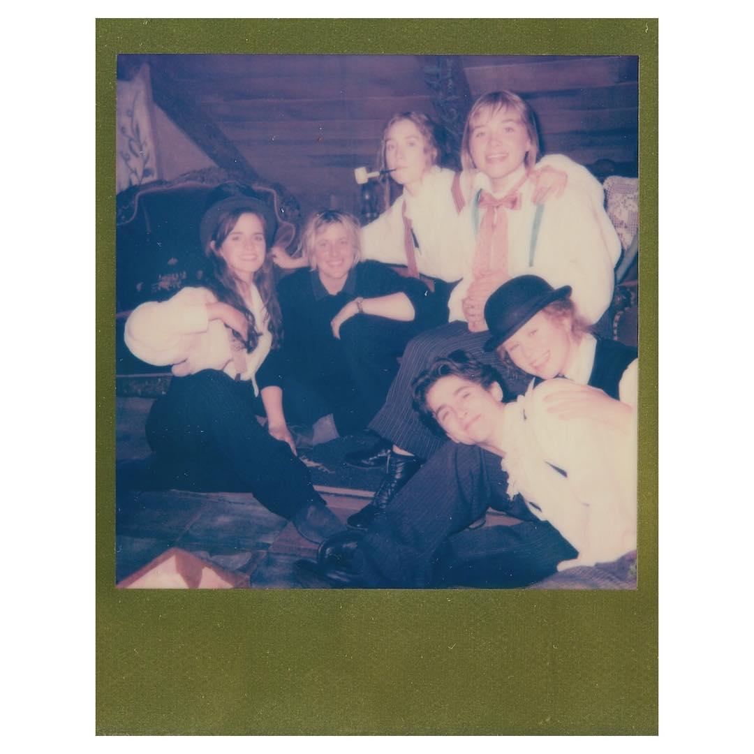 """画像1: Emma Watson on Instagram: """"""""I could never love anyone as I love my sisters."""" - Louisa May Alcott, @littlewomenofficial ⠀⠀⠀⠀⠀⠀⠀⠀⠀  From left: Meg March, Greta Gerwig…"""" www.instagram.com"""