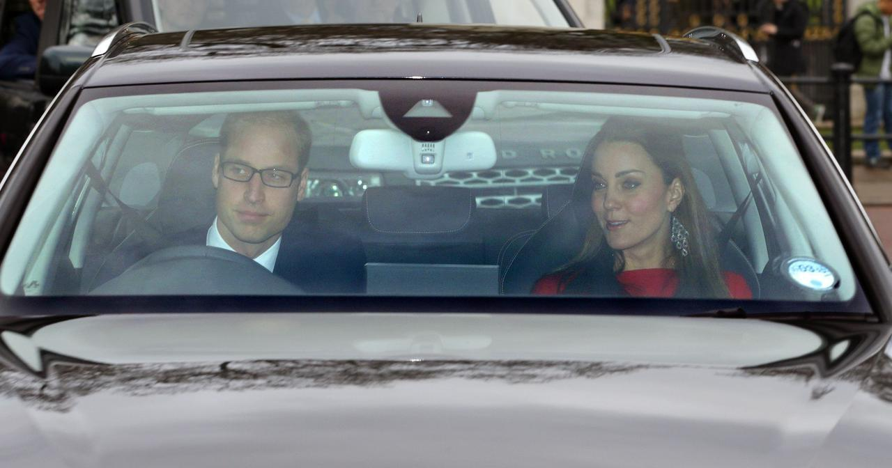 画像: これまではウィリアム王子が運転する姿が目撃されてきた