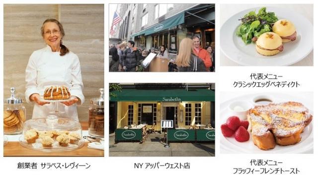 画像2: NY発のサラべス、欧米伝統菓子をアレンジしたパンケーキ登場