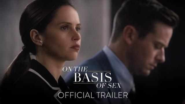 画像: ON THE BASIS OF SEX - Official Trailer [HD] - In Theaters This Christmas www.youtube.com