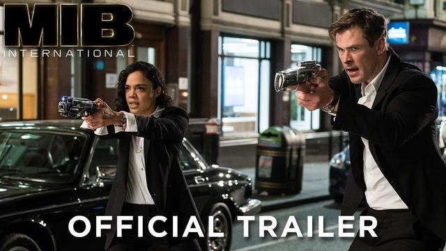 画像: MEN IN BLACK: INTERNATIONAL - Official Trailer www.youtube.com