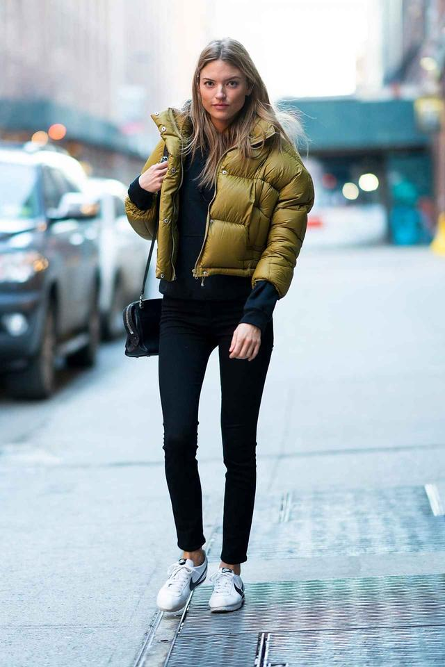 画像: 人気モデルのマーサ・ハント