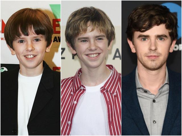 画像: 子役時代(左)から成長して、現在(右)は26歳のフレディ。