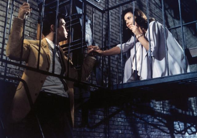 画像: 1961年公開の『ウェスト・サイド物語』のワンシーン。