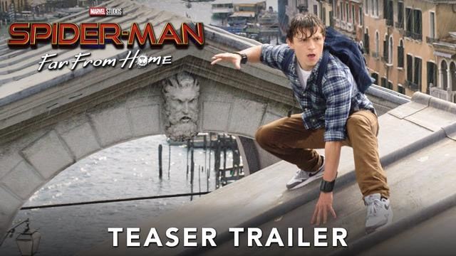 画像: SPIDER-MAN: FAR FROM HOME - Official Teaser Trailer www.youtube.com