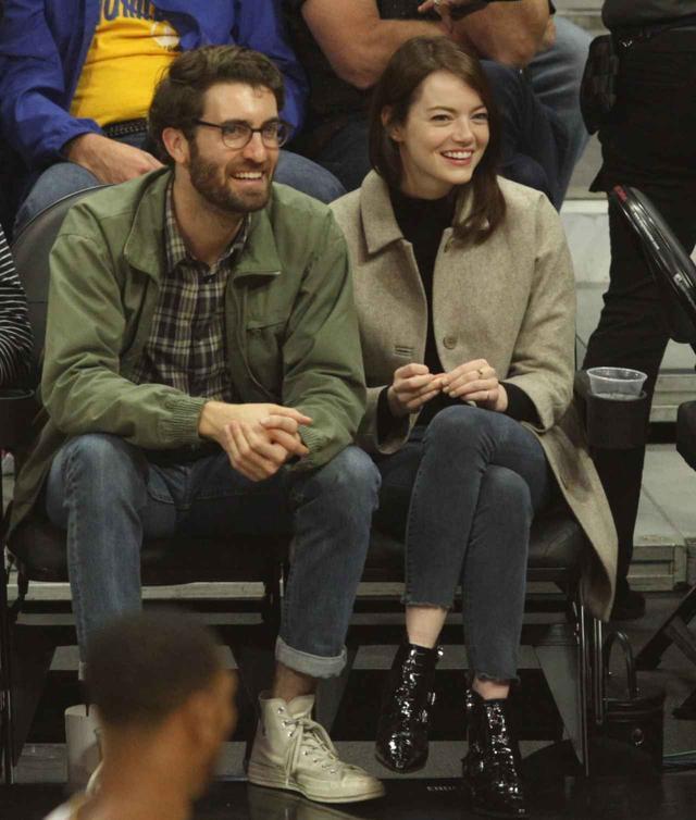 画像2: エマ・ストーンと彼氏との珍しい2ショット