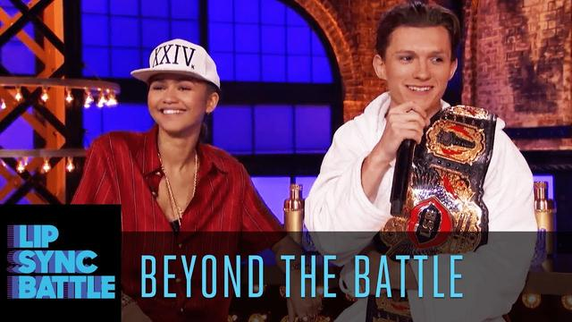 画像: Zendaya & Tom Holland Go Beyond the Battle | Lip Sync Battle www.youtube.com