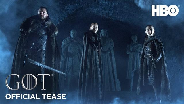 画像: Game of Thrones | Season 8 | Official Tease: Crypts of Winterfell (HBO) www.youtube.com
