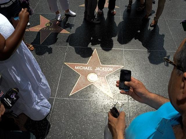 画像: 故マイケル・ジャクソンのスター