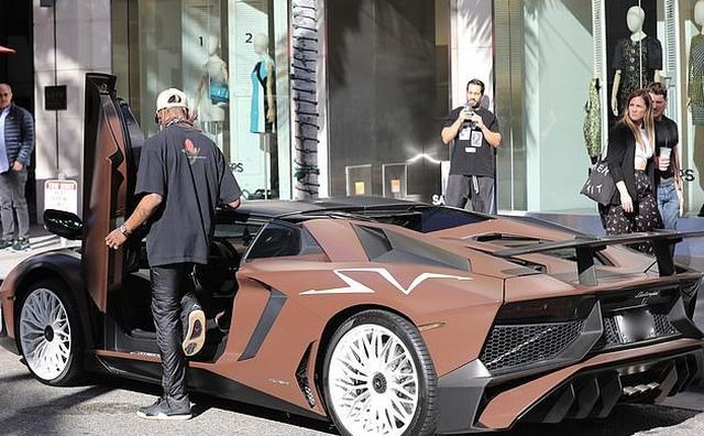 画像3: トラヴィス・スコット、5千万円超えのランボルギーニをカスタム!
